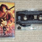 The Last Of The Mohicans Original Motion Picture Soundtrack Cassette