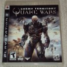 Enemy Territory Quake Wars PS3 PlayStation 3