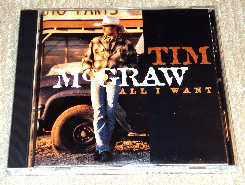 Tim McGraw – All I Want (CD)