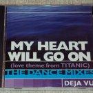 Deja Vu - My Heart Will Go On(Love Theme From Titanic)(4 versions) US CD SINGLE RARE