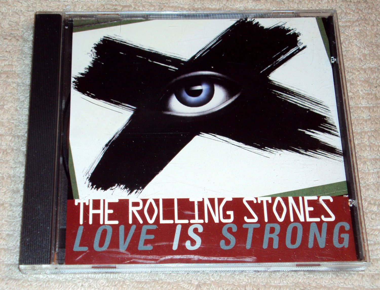 Rolling Stones � Love Is Strong (2 Versions including Bob Clearmountain remix) US PROMO CD SINGLE