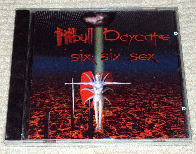 Pitbull Daycare – Six Six Sex (CD, 13trks) German Import NEW SEALED