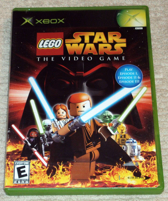 Lego Star Wars The Video Game (Microsoft Xbox, 2005)