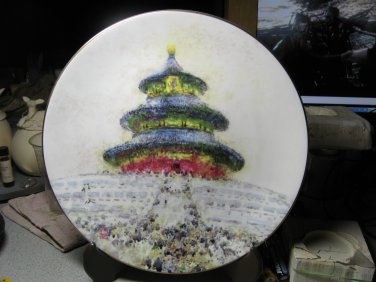 """Temple of Heaven"" by Chen Chi SIGNED"
