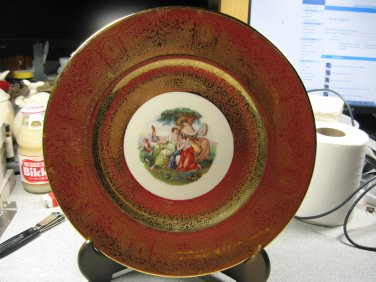 22k Plate by Royal China (Circa 1915)