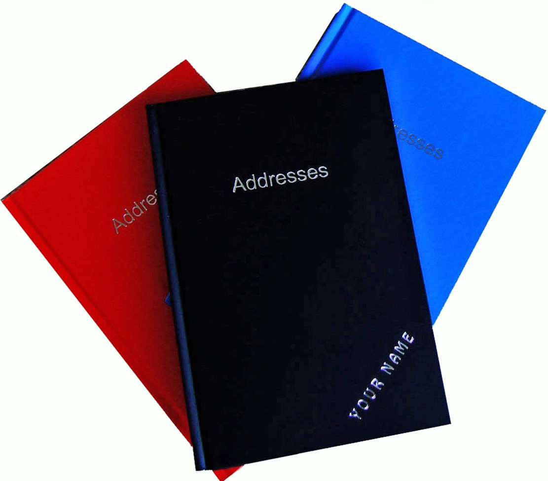 TELEPHONE / ADDRESS BOOK personalised with any name you want