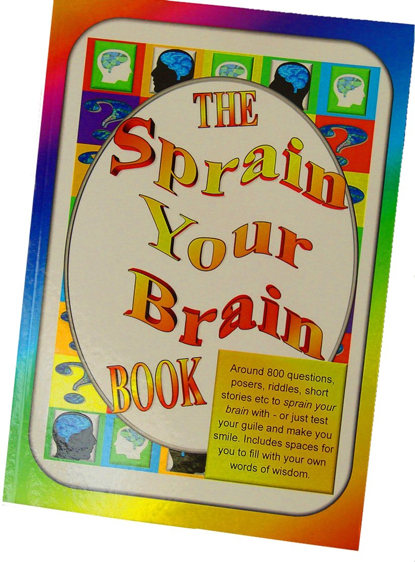 Sprain Your Brain Book