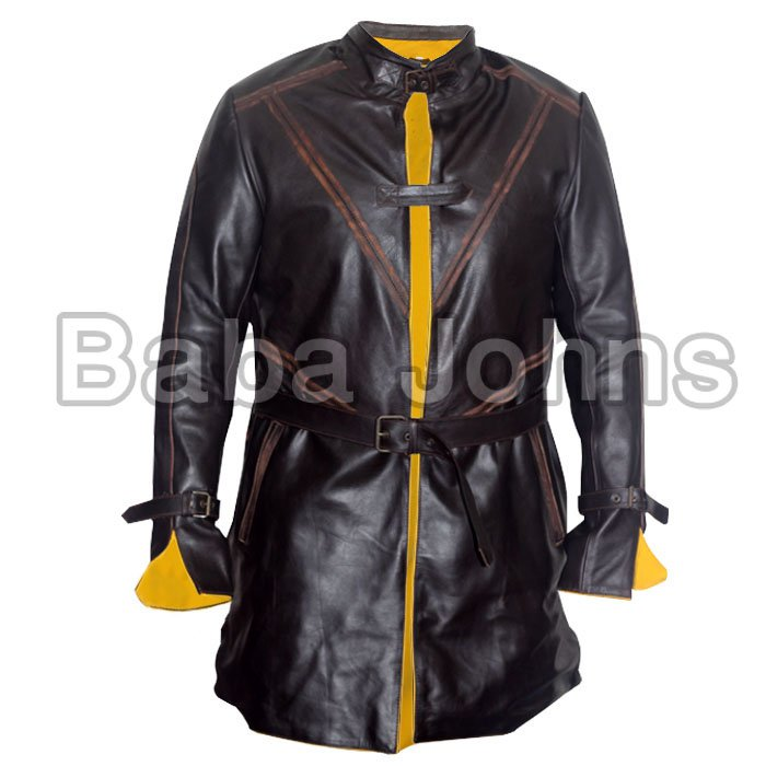 New Aiden pierce watch dog 2 gaming leather jacket