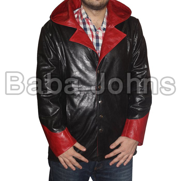 DEVIL MAY CRY 5 - DANTE FAUX LEATHER TRENCH COAT / JACKET