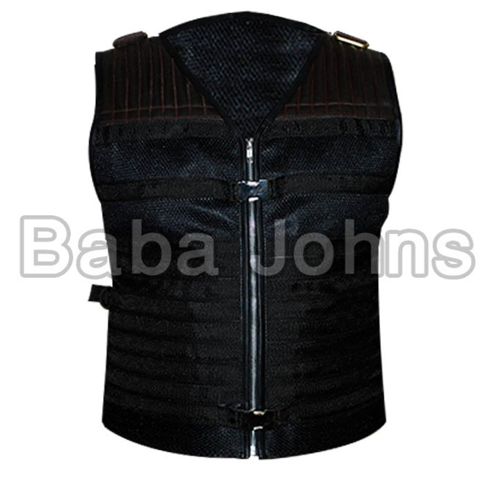Expendables 3 Sylvester Stallone Leather Vest. All Sizes