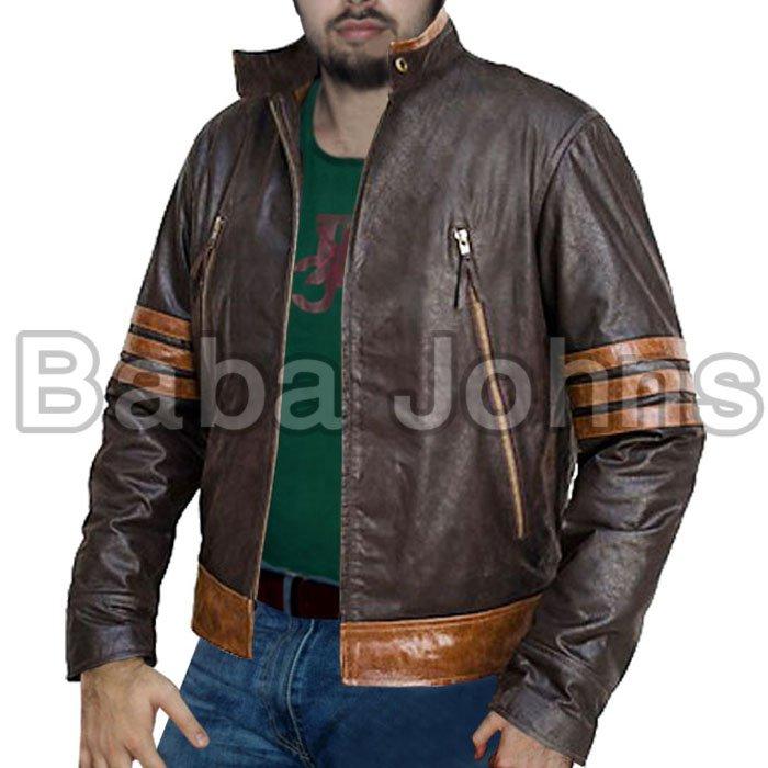 X-Men Xmen Movie All Parts Leather Fashionable Jackets