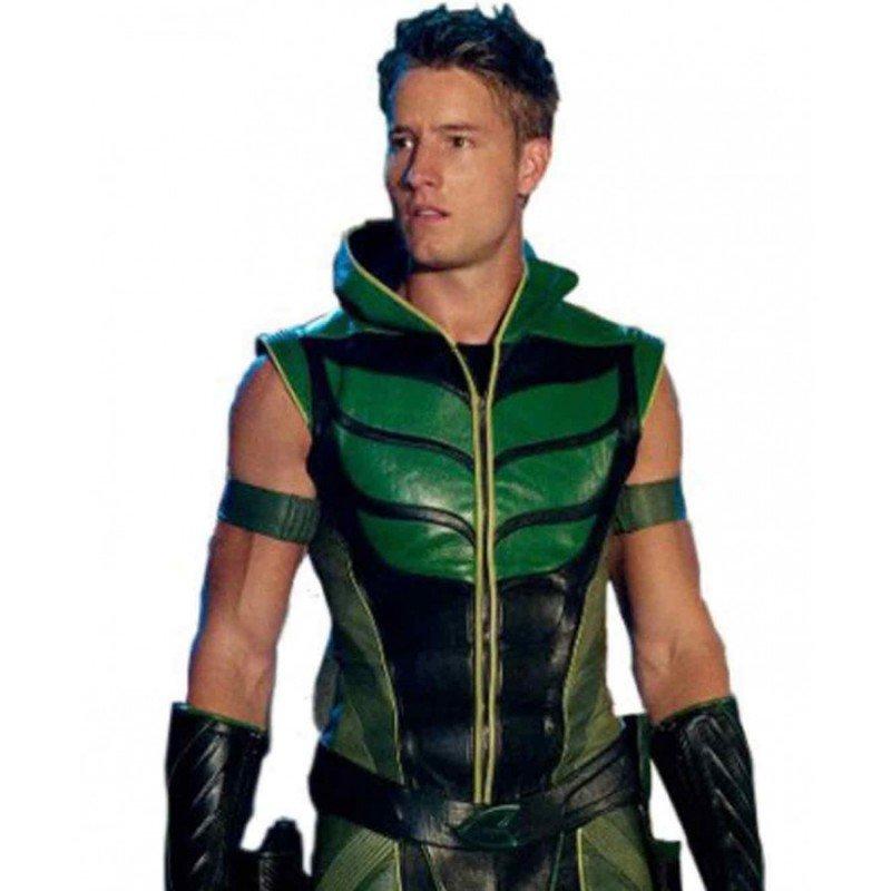 Justin Hartley Green Arrow Costume