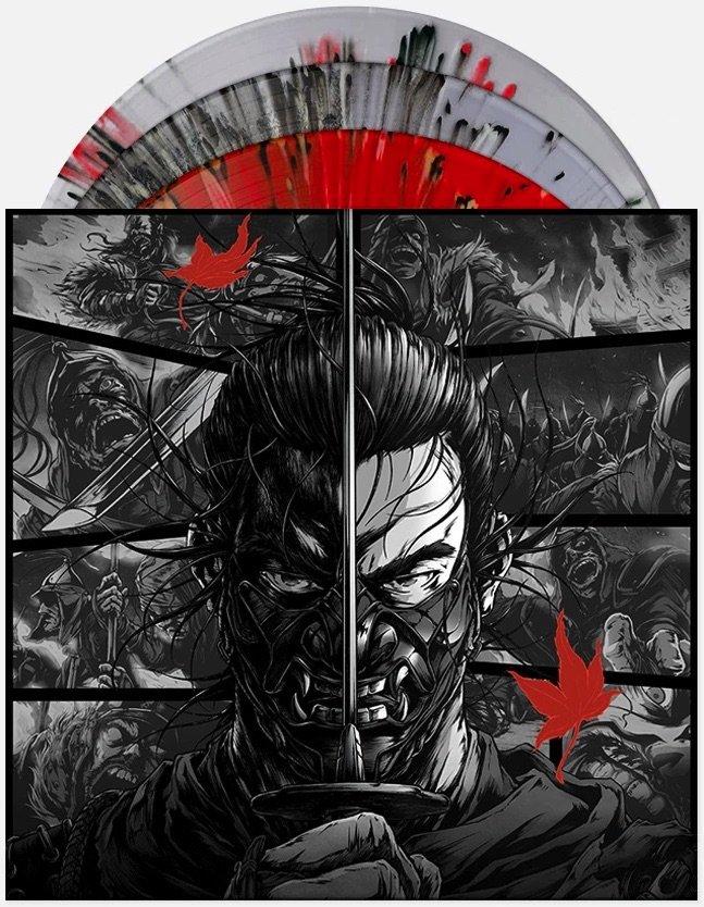 Ghost Of Tsushima 3-LP Splatter Vinyl Score Soundtrack Ilan Eshkeri SEALED PS4