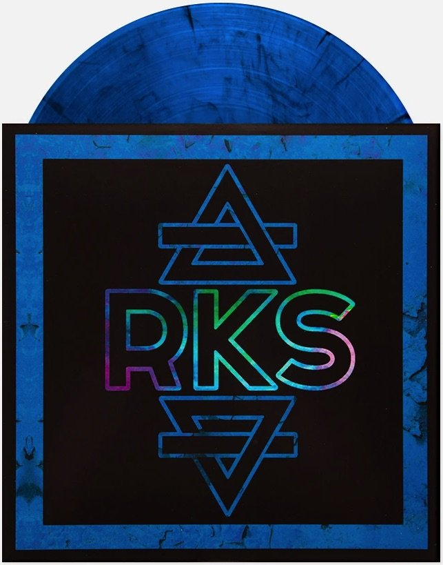 Rainbow Kitten Surprise RKS Blue With Black Swirl Vinyl LP Sealed Limited /500