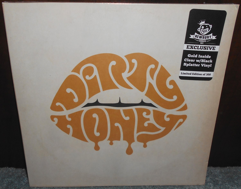Dirty Honey Vinyl LP Gold In Clear Black Splatter Sealed Self-Titled Limited 300