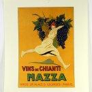 Vins de Chianti Mazza Italian Wine, Poster Reproduction, 21848