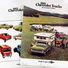 Vintage Chevrolet Brochures, 1971 Truck and Recreational Vehicles, Vans, Campers, 22326