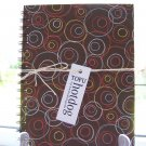 Brown Circle Notebook