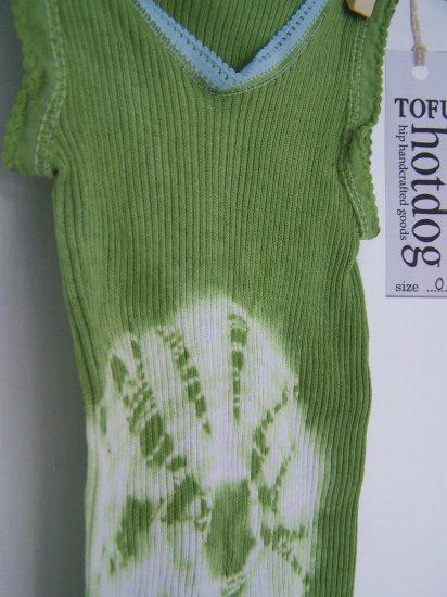 Leaf Green Baby Singlet