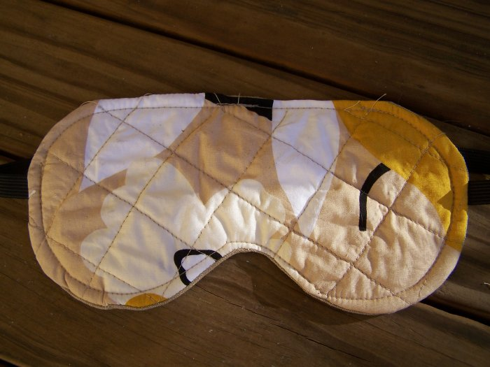 Quilted Sleeping Mask