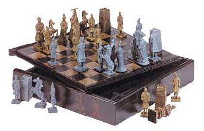3410000: SALE: Chinese Warrior Chess Set