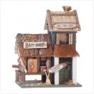 "3124500: WOOD ""BAIT SHOP"" BIRDHOUSE"