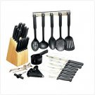 3191300: 41 pc. Cutlery Utensil Set-Great X-mas, Housewarming & Wedding Gift Set