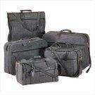 2194300: SALE: Jute Tweed Dark Gray 5-PC Luggage Set - Travel Set