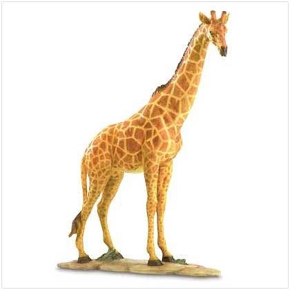 "3797400: Polyresin Giraffe Figurine-19"" Tall"
