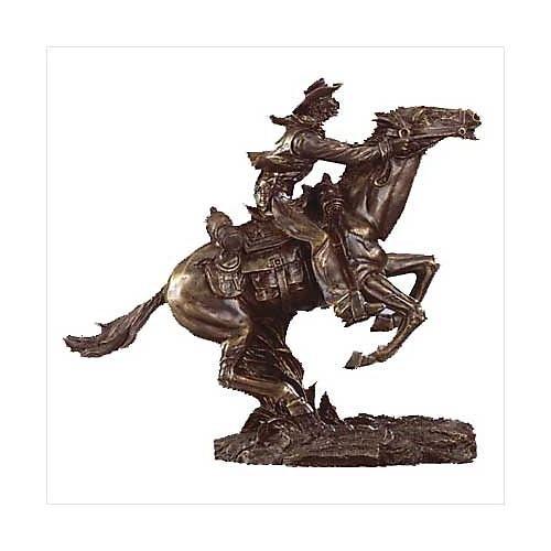 3104800: Liberty Bronze Collection Pony Express Horse Sculpture