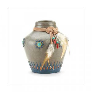 3764400: Native American Inspired Vase