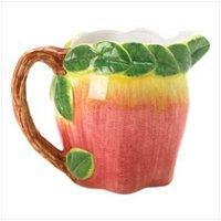 3821300 Decorative Ceramic Apple Pitcher