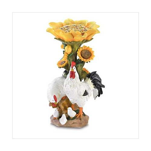 3861900: Country Chicken Birdfeeder - Home and Garden Decor