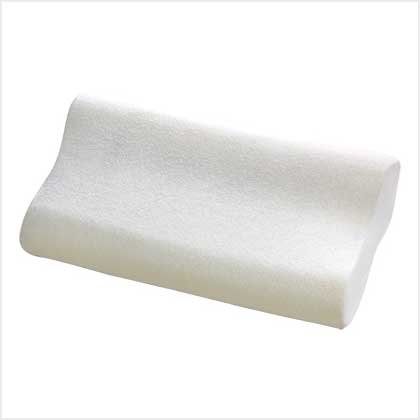 3872300: Memory Foam Contour Pillow with Washable Terry Cloth Cover