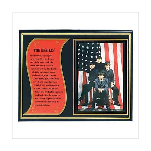 3927700: The Beatles Biography Plaque