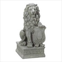 3862400: European Inspired Guardian Lion Statue