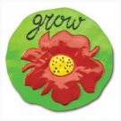 "3776700: ""Grow"" Garden Stepping Stone"