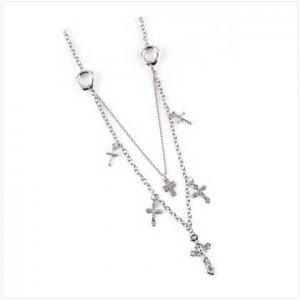 3951700 Crucifix Cross Charm Necklace