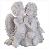 3426200: Adorable Cherubs Kissing -  Home and Garden Religious Decor