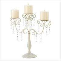 3978400: Ivory Elegance Candleabra - oos til 6/20