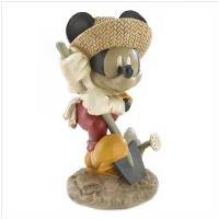 1221500: Mickey Mouse Gardening Figurine - Home and Garden Decor