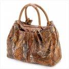 1225600:  Buttery-soft Snake Skin Printed Handbag - Multiple Uses