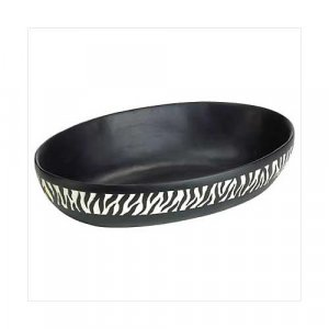 3798400: Zebra Stripe Bowl