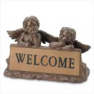 3730500: Garden Cherubs Address Marker - Religious Home and Garden Decor