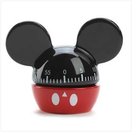 1221400:  Mickey Mouse Kitchen Timer
