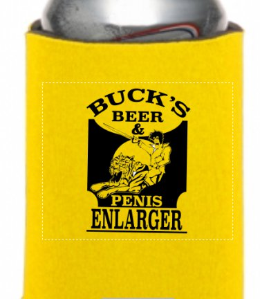 Buck's Beer Koozie