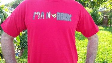 Man vs. Rock Logo Shirt
