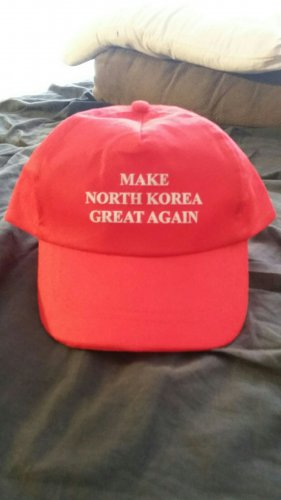 Make North Korea Great Again Hat