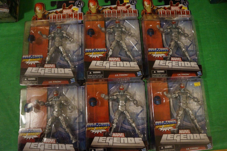 Marvel Legends Ultron Army Builder Lot (6)