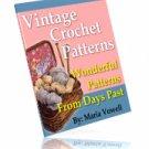 Vintage Crochet Twenty Quick and Easy Patterns Ebook
